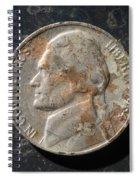 N 1964 D H Spiral Notebook