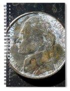 N 1999 B H Spiral Notebook