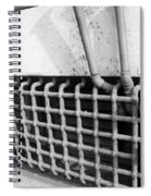 N Y C Grates In Black And White Spiral Notebook
