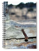 Nail On The Trail Spiral Notebook