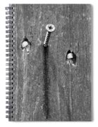 Nailed It - Bw Spiral Notebook