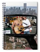 Naked Cow Girl Spiral Notebook