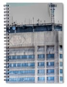 Naked Hsbc Tower V2 Spiral Notebook