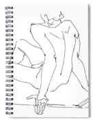 Naked-men-art-15 Spiral Notebook