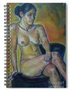 Naked Suri 1 Spiral Notebook