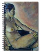 Naked Suri 2 Spiral Notebook