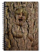 Naked Wood Nymph Spiral Notebook