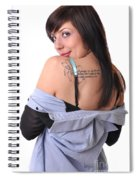 Nakita9 Spiral Notebook