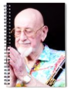 Namaste From Pete Fountain Spiral Notebook