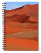 Namibian Red Sand Dunes  Spiral Notebook