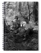 Nancy And Dad 1977 Spiral Notebook