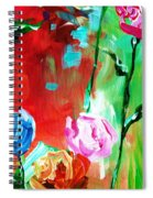 Nancy's Flowers Spiral Notebook