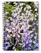 Nancys Wisteria Cropped Db Spiral Notebook