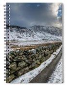 Nant Ffrancon Pass Spiral Notebook