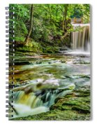 Nant Mill Waterfall Spiral Notebook