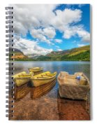 Nantlle Lake Spiral Notebook