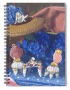 Nantucket Mermaid Tea Spiral Notebook