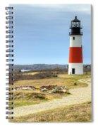 Nantucket's Sankaty Head Light Spiral Notebook