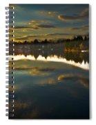 Naomi Sunset Spiral Notebook
