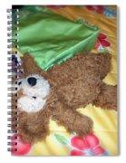 Nap Time Bear Spiral Notebook