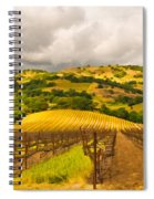 Napa Vineyard Spiral Notebook