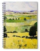 Napa Yellow2 Spiral Notebook
