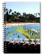 Napili Bay Maui Hawaii Spiral Notebook