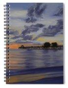 Naples Pier Naples Florida Spiral Notebook
