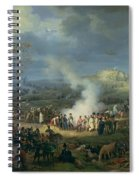 Napoleon 1769-1821 Visiting A Bivouac On The Eve Of The Battle Of Austerlitz, 1st December 1805 Spiral Notebook