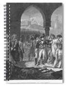 Napoleon At Jaffa, 1799 Spiral Notebook