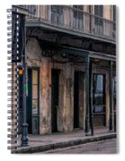 Napoleon House In French Quarter Spiral Notebook