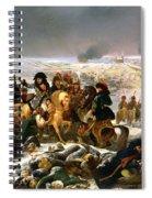 Napoleon On The Battlefield Of Eylau Spiral Notebook