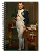 Emperor Napoleon In His Study At The Tuileries Spiral Notebook