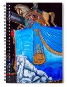 Napoleon Rides  Spiral Notebook