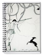 Narcisse Spiral Notebook