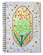 Narcissus Flower Petals Spiral Notebook