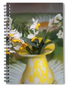 Narcissus In The Vase Spiral Notebook
