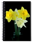 Narcissus Spiral Notebook