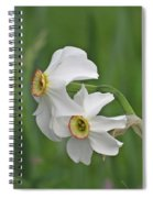 Narcissus Pair Spiral Notebook
