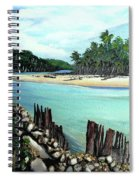 Nariva River And Cocos Bay Spiral Notebook