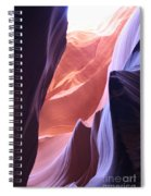Narrow Canyon Xvi - Antelope Canyon Spiral Notebook