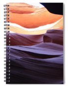 Narrow Canyon Xviii Spiral Notebook