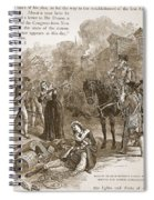 Narrow Escape Of Benedict Arnold, When Spiral Notebook