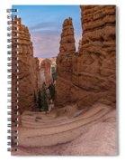 Narrow Passage 1 Spiral Notebook