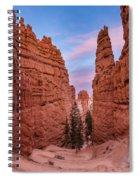 Narrow Passage 2 Spiral Notebook