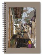 Narrow Street Spiral Notebook
