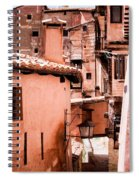 Narrow Streets Of Albarracin  Spiral Notebook