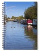 Narrowboats Spiral Notebook