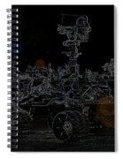 Nasa Vehicle System Vstb Rover On The Dark Side Spiral Notebook