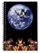 Nasa Company Picnic Spiral Notebook